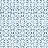 Modelo geométrico negro y blanco inconsútil abstracto del ornamento del ejemplo del vector de Graphic Design Background de la cer Imágenes de archivo libres de regalías