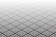 Modelo geométrico Opinión de perspectiva de disminución Imagenes de archivo