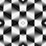 Modelo geométrico poligonal metálico inconsútil El fondo cóncavo que riela de oscuridad para encender tonos crea efecto óptico de libre illustration