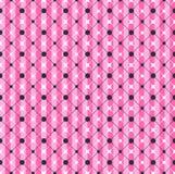 Modelo geométrico rayado del rosa del encanto ilustración del vector