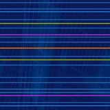 Modelo geométrico repetidor de rayas horizontales fluorescentes brillantes libre illustration