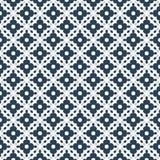 Modelo geométrico retro en la repetición Impresión de la tela Fondo inconsútil, ornamento del mosaico, estilo del vintage Imagenes de archivo