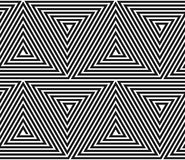 Modelo geométrico triangular del vector. Imagen de archivo libre de regalías