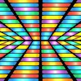 Modelo geométrico abstracto Fotos de archivo