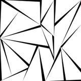 Modelo greyscale del triángulo Foto de archivo
