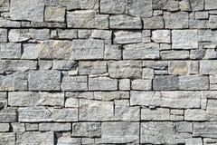 Modelo gris de la pared de piedra de la pizarra gris marrón decorativa Imagen de archivo libre de regalías