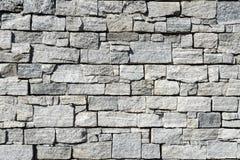 Modelo gris de la pared de piedra de la pizarra gris marrón decorativa Fotografía de archivo libre de regalías