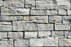 Modelo gris de la pared de piedra de la pizarra gris marrón decorativa Fotografía de archivo