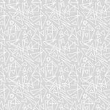 Modelo gris geométrico ilustrado del extracto libre illustration