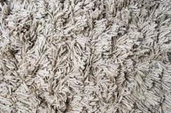 Modelo gris mullido del fondo de la alfombra Foto de archivo