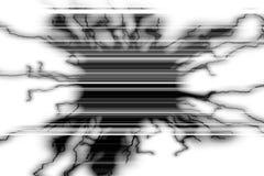 Modelo gris negro en el fondo blanco Fotos de archivo libres de regalías