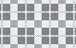 Modelo gris Textura del Rhombus para - la tela escocesa, los manteles, las camisas, los vestidos, el papel, el lecho, las mantas, libre illustration