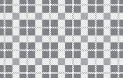 Modelo gris Textura del Rhombus para - la tela escocesa, los manteles, las camisas, los vestidos, el papel, el lecho, las mantas, ilustración del vector