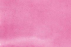Modelo hecho a mano natural rosado de la textura de la pintura de los watercolours de la acuarela, primer texturizado horizontal  Fotografía de archivo