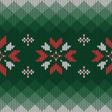 Modelo hecho punto la Navidad Modelo inconsútil abstracto geométrico ilustración del vector