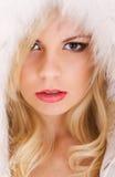 Modelo hermoso con el pelo rubio Imagen de archivo libre de regalías