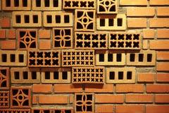 modelo hermoso del ladrillo Foto de archivo libre de regalías