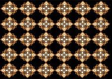 Modelo hermoso del ornamento de Indonesia del batik ilustración del vector