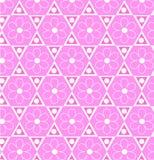 Modelo hexagonal Fotografía de archivo libre de regalías