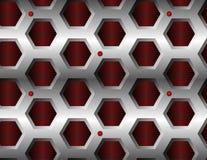 Modelo hexagonal inconsútil Fotografía de archivo