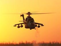 Modelo Hind Scale Helicopter de RC Fotos de archivo