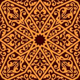 Modelo inconsútil árabe de la teja Fotos de archivo