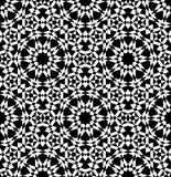 Modelo inconsútil árabe geométrico Foto de archivo