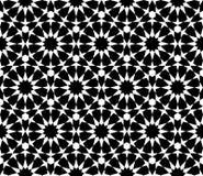Modelo inconsútil árabe geométrico Imagen de archivo