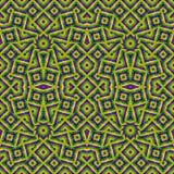Modelo inconsútil étnico colorido geométrico Fotografía de archivo libre de regalías