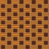 Modelo inconsútil étnico Kente Cloth Impresión tribal ilustración del vector