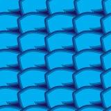 Modelo inconsútil abstracto azul Stock de ilustración