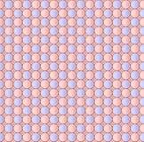 Modelo inconsútil abstracto de círculos Imagenes de archivo