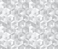 Modelo inconsútil abstracto de hexágonos Textura geométrica stock de ilustración