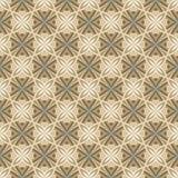 Modelo inconsútil abstracto de la teja de la flor Fotos de archivo