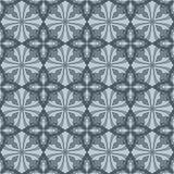 Modelo inconsútil abstracto de la teja de la flor Foto de archivo libre de regalías