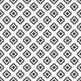 Modelo inconsútil abstracto de Rhombus lisos Ornamento geométrico étnico stock de ilustración