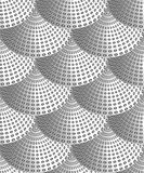 Modelo inconsútil abstracto de rizos ilustración del vector