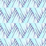 Modelo inconsútil abstracto de triángulos Líneas y movimientos Fotografía de archivo