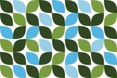 Modelo inconsútil, abstracto del fondo hecho con la hoja como formas geométricas stock de ilustración