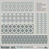 Modelo inconsútil abstracto del vector Fotografía de archivo