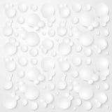 Modelo inconsútil abstracto del vector de las burbujas Fotos de archivo