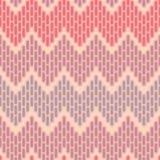 Modelo inconsútil abstracto del zigzag Fotografía de archivo libre de regalías