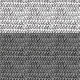 Modelo inconsútil abstracto dibujado mano Imagenes de archivo