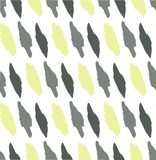 Modelo inconsútil abstracto, faltas de definición grises y verdes olivas y punto ilustración del vector