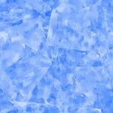 Modelo inconsútil abstracto Fondo azul de la acuarela Fotografía de archivo libre de regalías