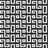 Modelo inconsútil abstracto Ornamento geométrico stock de ilustración
