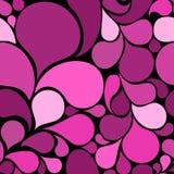 Modelo inconsútil abstracto rosado ilustración del vector