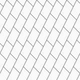 Modelo inconsútil abstracto textura con estilo moderna Repetición de las tejas geométricas con los ladrillos santed diagonales ilustración del vector