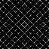 Modelo inconsútil blanco y negro stock de ilustración