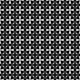 Modelo inconsútil blanco y negro geométrico ilustración del vector